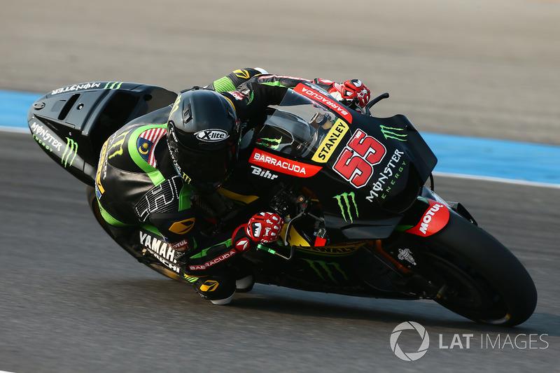 "<img src= https://cdn-1.motorsport.com/static/custom/car-thumbs/MOTOGP_2018/NUMBERS/syahrin.png width=""55"" /> Hafizh Syahrin, Monster Yamaha Tech 3"