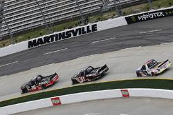 Noah Gragson, Kyle Busch Motorsports, Toyota Tundra Safelite Harrison Burton, Kyle Busch Motorsports, Toyota Tundra DEX Imaging
