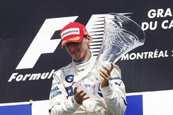 Winner Robert Kubica, BMW Sauber F1.08