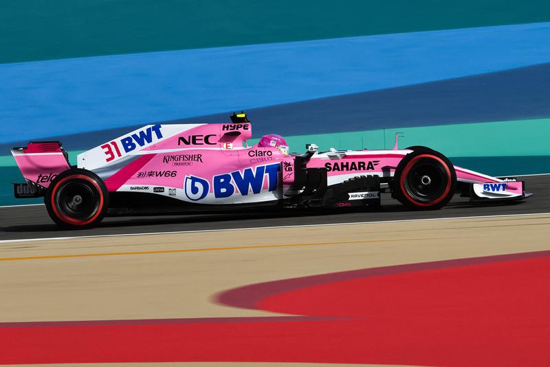 La Force India VJM11 imaginée sans le Halo