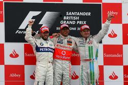 Нік Хайдфельд, BMW Sauber F1, Льюіс Хемілтон, McLaren, Рубенс Баррікелло
