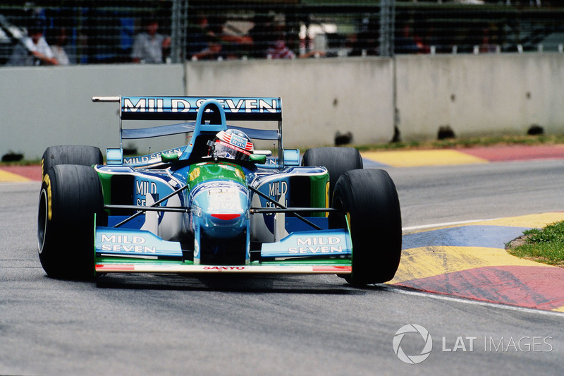 1994 - Michael Schumacher, Benetton-Ford