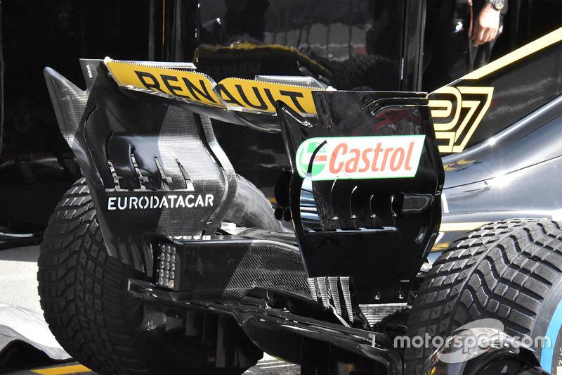 Renault Sport F1 Team R.S. 18, заднє антикрило