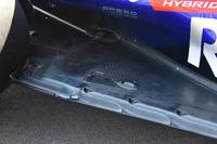 Scuderia Toro Rosso STR13, dettaglio della carrozzeria