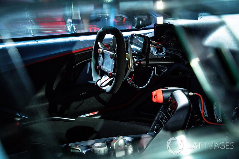 Hyundai RN30 concept interior detail