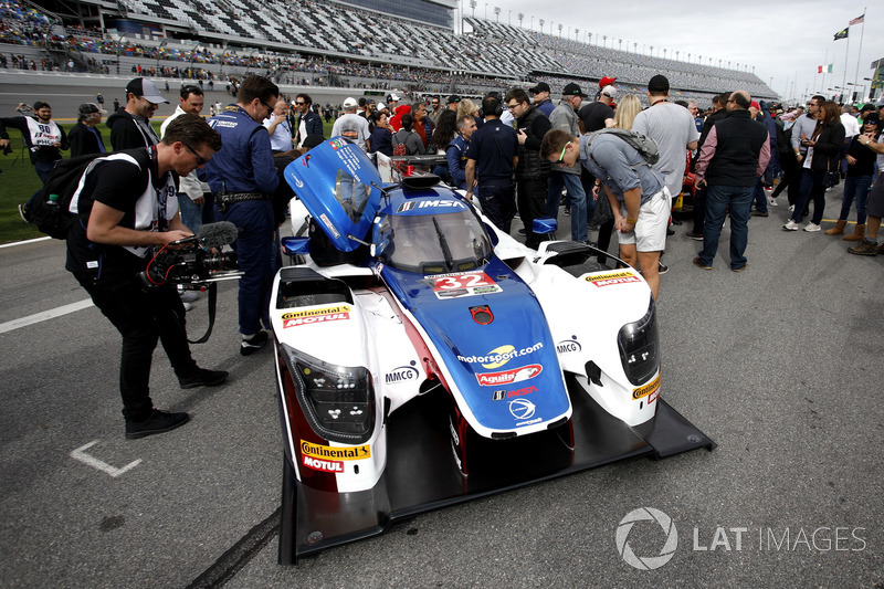 Car of #32 United Autosports Ligier LMP2: Will Owen, Hugo de Sadeleer, Paul Di Resta, Bruno Senna