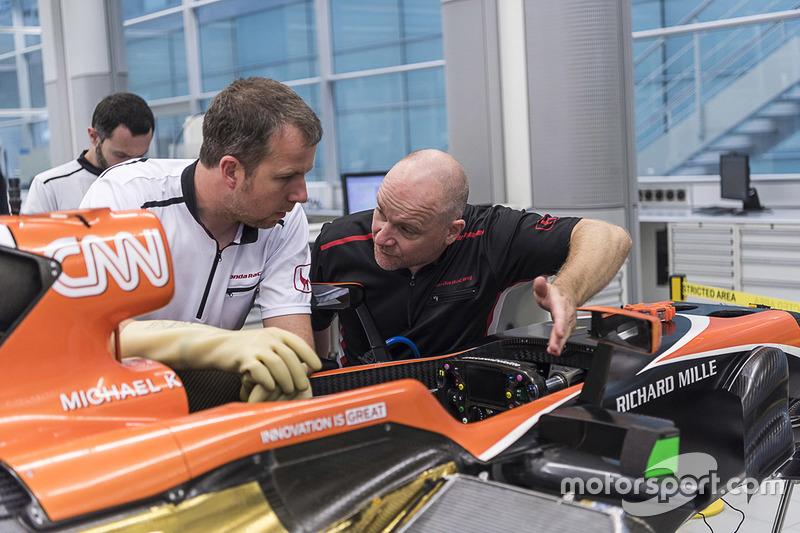 McLaren car assembly