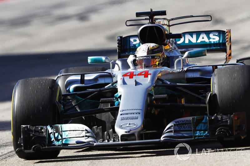 1º Lewis Hamilton - 30 carreras - De Japón 2016 hasta ahora - Mercedes