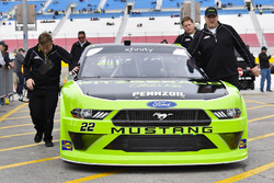 Ryan Blaney, Team Penske, Ford Mustang Fitzgerald Glider Kits
