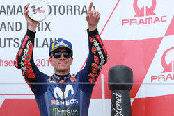 Podium: third place Maverick Viñales, Yamaha Factory Racing