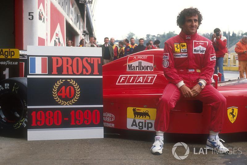 Ganador del GP de Brasil 1990: Alain Prost, Ferrari
