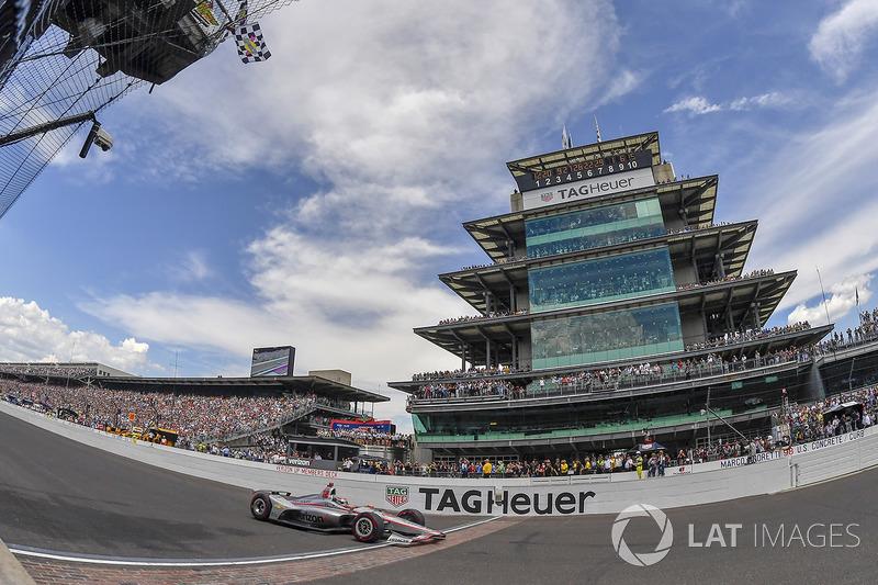 Yarış galibi Will Power, Team Penske Chevrolet