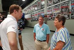 Brad Keselowski, Team Penske meeting with the Eckard family
