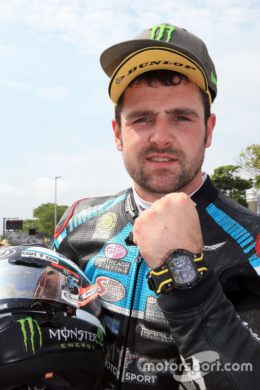 Race winner Michael Dunlop, MD Racing Honda