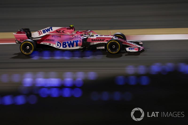 8. Esteban Ocon, Force India VJM11 Mercedes
