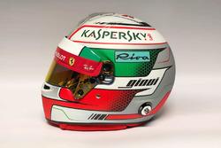Il casco di Antonio Giovinazzi, Ferrari reserve driver
