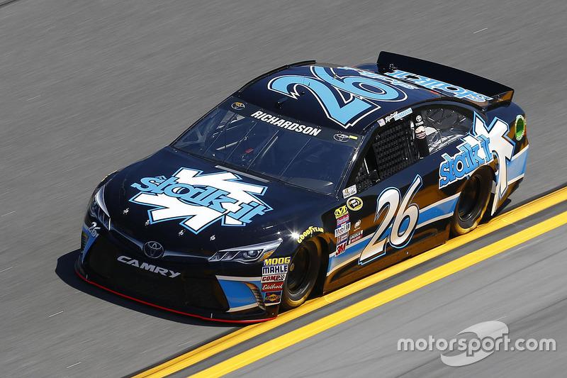#26 Robert Richardson Jr. (BK-Toyota)