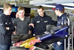 Richard Verschoor ve Max Verstappen, Scuderia Toro Rosso
