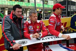 #83 AF Corse Ferrari 458 Italia: Francois Perrodo, Emmanuel Collard