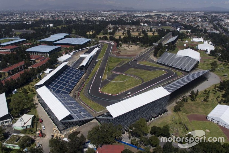 Arbeiten am autodromo hermanos rodr guez in mexiko bei gp for Puerta 7 autodromo hermanos rodriguez