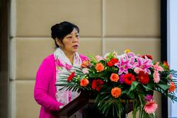 中国汽车造型设计大赛组委会秘书长熊丽金发言