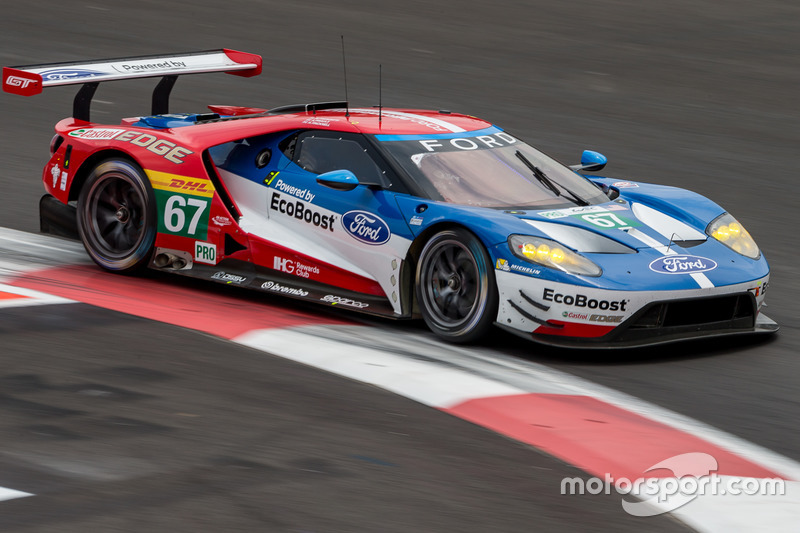 5. GTE-Pro: #67 Ford Chip Ganassi Racing Team UK, Ford GT: Marino Franchitti, Andy Priaulx, Harry Tincknell
