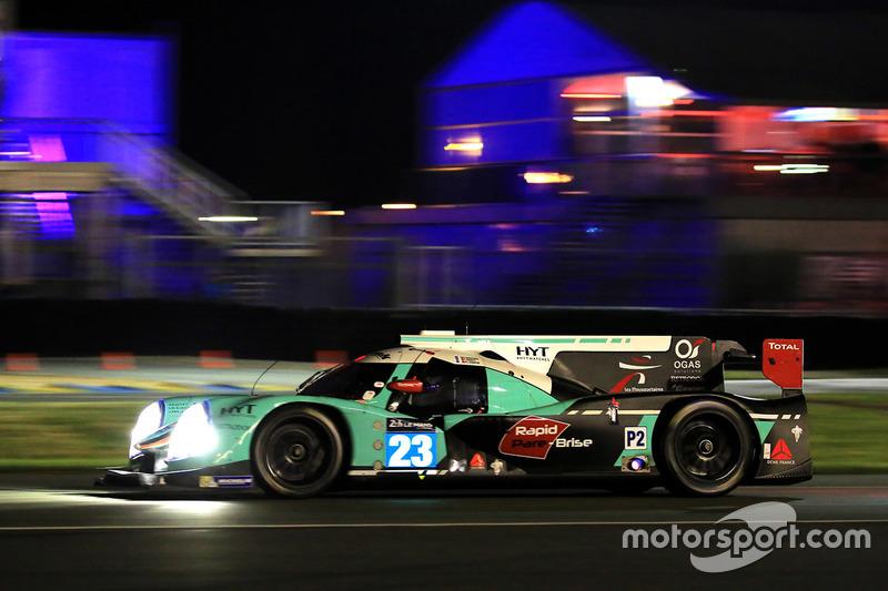 19: #23 Panis Barthez Competition Ligier JS P2 Nissan: Fabien Barthez, Timothé Buret, Paul-Loup Chatin