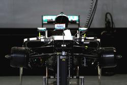 Mercedes AMG F1 Team W07, Frontalansicht