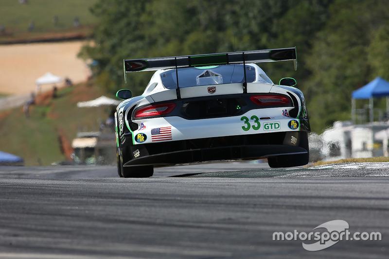 #33 Riley Motorsports SRT, Viper GT3-R: Ben Keating, Jeroen Bleekemolen, Marc Miller