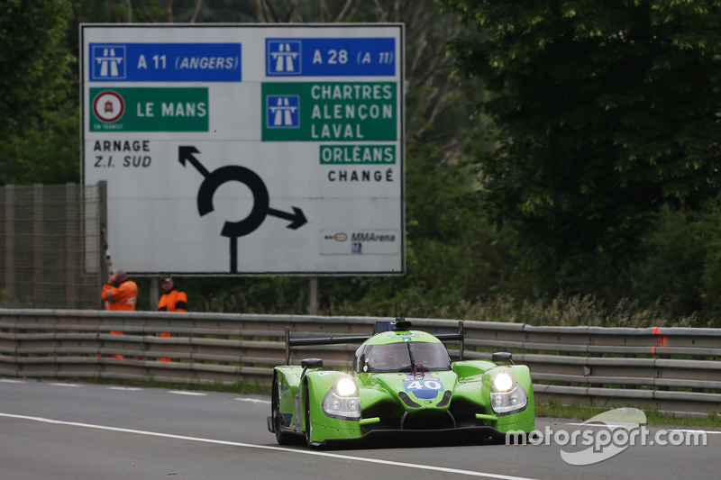 #40 Krohn Racing, Ligier JS P2 - Nissan: Tracy Krohn, Nic Jonsson, Joao Barbosa
