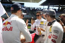 Robert Wickens, Mercedes-AMG Team HWA, Mercedes-AMG C63 DTM, mit Edoardo Mortara, Audi Sport Team Ab