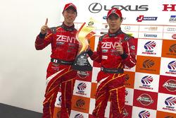 GT500 race winners #38 Zent Cerumo Lexus RC F: Yuji Tachikawa, Hiroaki Ishiura