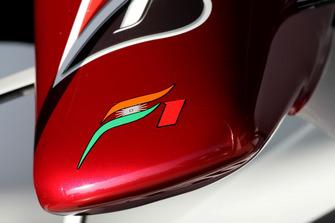Il naso della monoposto di Adrian Sutil, Force India