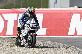 Xavier Simeon, Avintia Racing runs wide