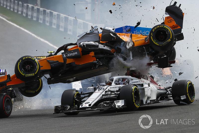 Belgique - Nico Hülkenberg/Fernando Alonso/Charles Leclerc