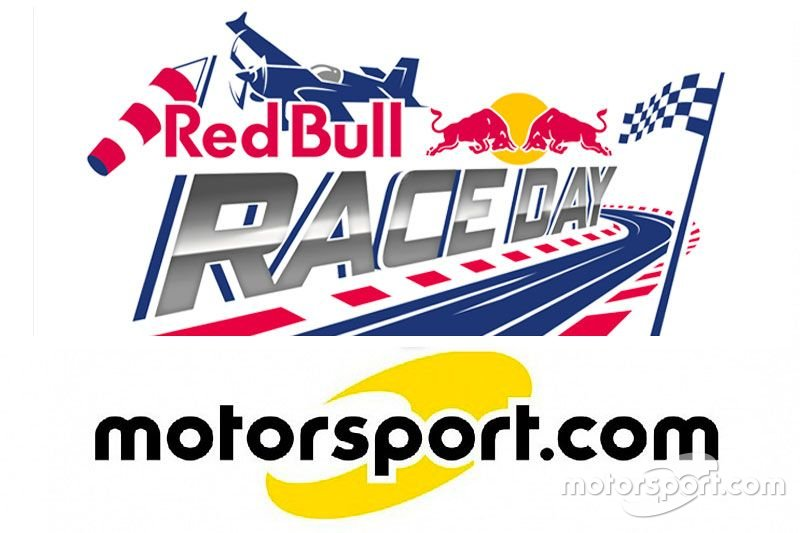 Collaboration entre Red Bull Race Day et Motorsport.com Suisse, logo