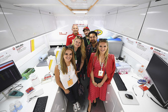 Motorsport Network Team at Shell Track Lab
