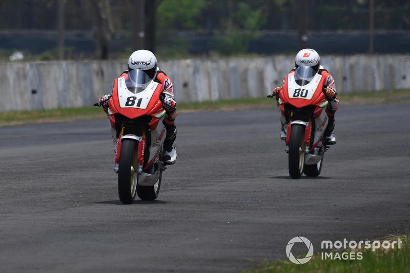 Rajiv Sethu and Senthil Kumar, Honda India (Asia Road Racing Championship, Malaysia)