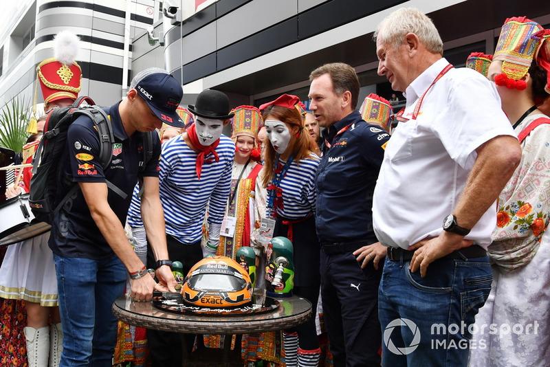 Макс Ферстаппен, Red Bull Racing, святкує день народження