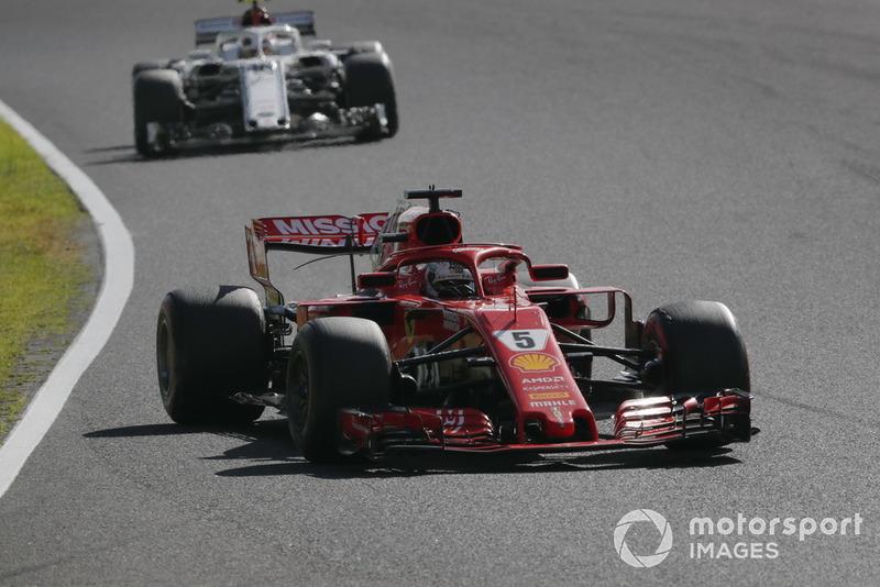 Себастьян Феттель, Ferrari SF71H, Шарль Леклер, Sauber C37