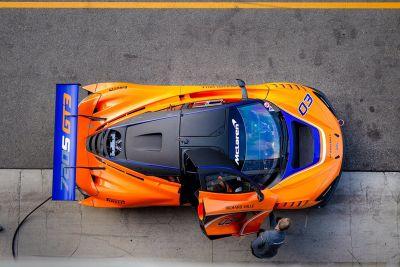 Презентация McLaren 720S GT3