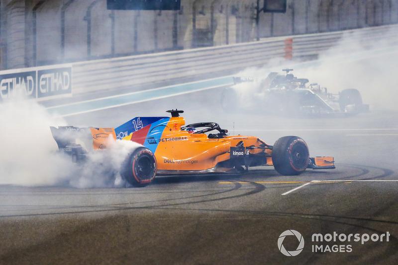 GP de Abu Dhabi: Fernando Alonso (11º en carrera)