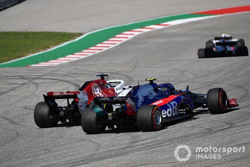12e : Pierre Gasly (Toro Rosso)