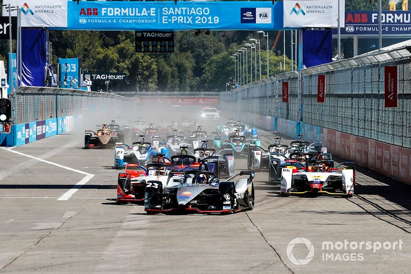 Sébastien Buemi, Nissan e.Dams, Nissan IMO1, Pascal Wehrlein, Mahindra Racing, M5 Electro, Daniel Abt, Audi Sport ABT Schaeffler, Audi e-tron FE05