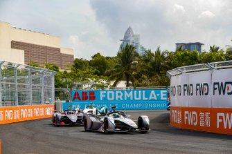 Felipe Massa, Venturi Formula E, Venturi VFE05, Sam Bird, Envision Virgin Racing, Audi e-tron FE05, Tom Dillmann, NIO Formula E Team, NIO Sport 004