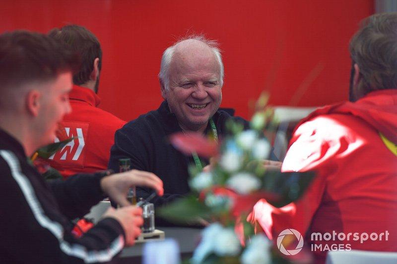 Norbert Vettel, padre di Sebastian Vettel, Ferrari
