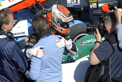 Max Verstappen, VAN AMERSFOORT RACING Dallara F312 Volkswagen and Jos Verstappen