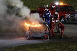 Мартін Труекс мол., Furniture Row Racing Toyota, аварія