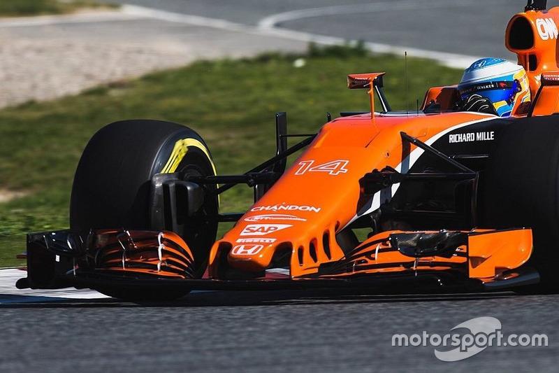 18º Fernando Alonso, McLaren MCL32,1:22.598, ultrablandos, (100 vueltas)