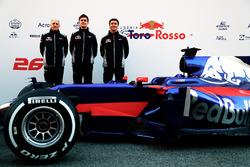 Franz Tost, jefe de equipo de Scuderia Toro Rosso, James Key, director técnico Scuderia Toro Rosso